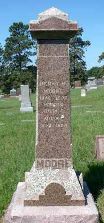 MOORE, HENRY HALE - Minnehaha County, South Dakota | HENRY HALE MOORE - South Dakota Gravestone Photos