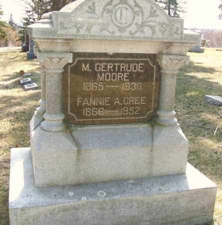 MOORE, M. GERTRUDE - Minnehaha County, South Dakota | M. GERTRUDE MOORE - South Dakota Gravestone Photos