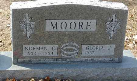MOORE, GLORIA J. - Minnehaha County, South Dakota | GLORIA J. MOORE - South Dakota Gravestone Photos
