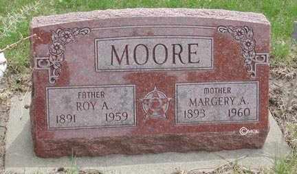 MOORE, MARGERY A. - Minnehaha County, South Dakota | MARGERY A. MOORE - South Dakota Gravestone Photos