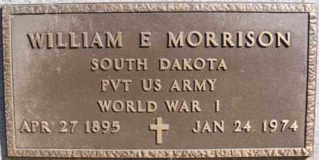 MORRISON, WILLIAM E (WWI) - Minnehaha County, South Dakota | WILLIAM E (WWI) MORRISON - South Dakota Gravestone Photos
