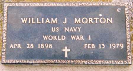 MORTON, WILLIAM J. (WWI) - Minnehaha County, South Dakota   WILLIAM J. (WWI) MORTON - South Dakota Gravestone Photos
