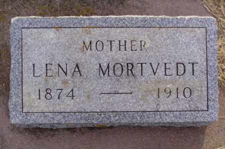 ANDERSON MORTVEDT, LENA - Minnehaha County, South Dakota | LENA ANDERSON MORTVEDT - South Dakota Gravestone Photos