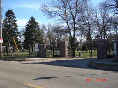 *MOUNT PLEASANT, CEMETERY ENTRANCE GATE - Minnehaha County, South Dakota   CEMETERY ENTRANCE GATE *MOUNT PLEASANT - South Dakota Gravestone Photos