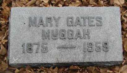 GATES MUGGAH, MARY - Minnehaha County, South Dakota | MARY GATES MUGGAH - South Dakota Gravestone Photos