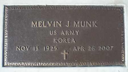 MUNK, MELVIN J. (KOREA) - Minnehaha County, South Dakota | MELVIN J. (KOREA) MUNK - South Dakota Gravestone Photos