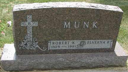 MUNK, ELVERNA R. - Minnehaha County, South Dakota | ELVERNA R. MUNK - South Dakota Gravestone Photos