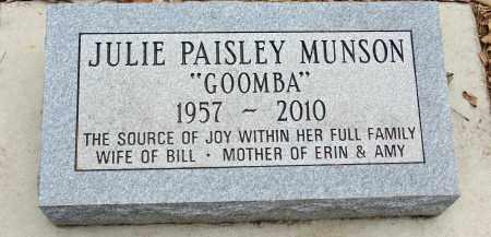 MUNSON, JULIE - Minnehaha County, South Dakota | JULIE MUNSON - South Dakota Gravestone Photos