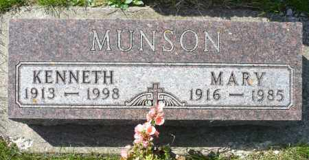 MUNSON, KENNETH - Minnehaha County, South Dakota | KENNETH MUNSON - South Dakota Gravestone Photos