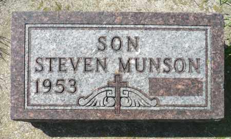 MUNSON, STEVEN - Minnehaha County, South Dakota | STEVEN MUNSON - South Dakota Gravestone Photos