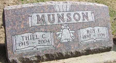 SEVERSON MUNSON, THIEL C. - Minnehaha County, South Dakota | THIEL C. SEVERSON MUNSON - South Dakota Gravestone Photos