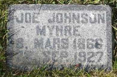 MYHRE, JOE JOHNSON - Minnehaha County, South Dakota | JOE JOHNSON MYHRE - South Dakota Gravestone Photos