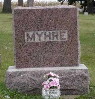 MYHRE, M. MELVIN - Minnehaha County, South Dakota | M. MELVIN MYHRE - South Dakota Gravestone Photos