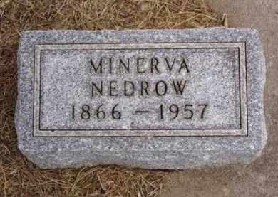 NEDROW, MINERVA - Minnehaha County, South Dakota | MINERVA NEDROW - South Dakota Gravestone Photos