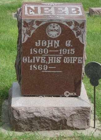 NEEB, OLIVE - Minnehaha County, South Dakota | OLIVE NEEB - South Dakota Gravestone Photos