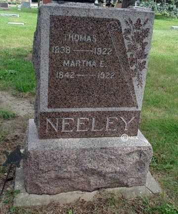 NEELEY, THOMAS - Minnehaha County, South Dakota | THOMAS NEELEY - South Dakota Gravestone Photos