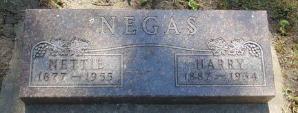 NEGAS, HARRY - Minnehaha County, South Dakota | HARRY NEGAS - South Dakota Gravestone Photos