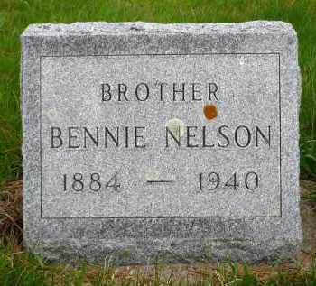 NELSON, BENNIE - Minnehaha County, South Dakota | BENNIE NELSON - South Dakota Gravestone Photos