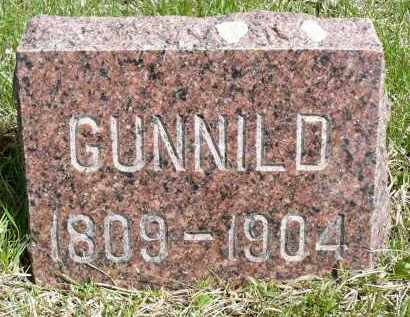 NELSON, GUNNILD - Minnehaha County, South Dakota | GUNNILD NELSON - South Dakota Gravestone Photos
