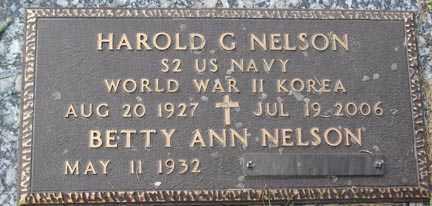 NELSON, BETTY ANN - Minnehaha County, South Dakota | BETTY ANN NELSON - South Dakota Gravestone Photos