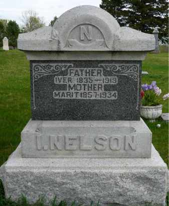 NELSON, MARIT - Minnehaha County, South Dakota | MARIT NELSON - South Dakota Gravestone Photos