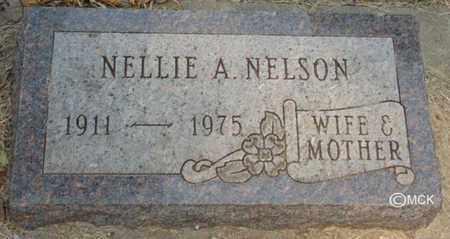 NELSON, NELLIE A. - Minnehaha County, South Dakota | NELLIE A. NELSON - South Dakota Gravestone Photos