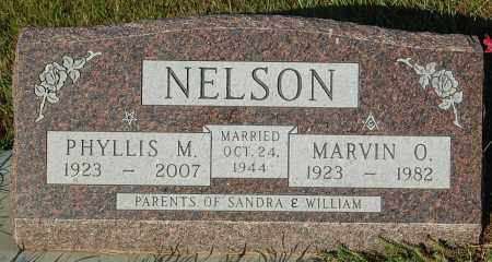 NELSON, PHYLLIS M. - Minnehaha County, South Dakota | PHYLLIS M. NELSON - South Dakota Gravestone Photos