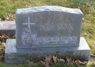 NELSON, VICTOR V. - Minnehaha County, South Dakota   VICTOR V. NELSON - South Dakota Gravestone Photos