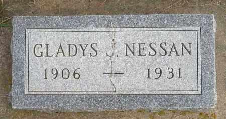 NESSAN, GLADYS - Minnehaha County, South Dakota | GLADYS NESSAN - South Dakota Gravestone Photos
