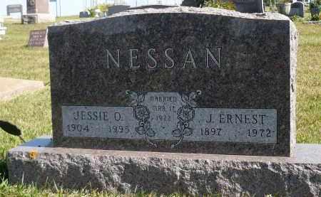 NESSAN, J. ERNEST - Minnehaha County, South Dakota   J. ERNEST NESSAN - South Dakota Gravestone Photos