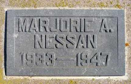 NESSAN, MARJORIE A. (CLOSE UP) - Minnehaha County, South Dakota | MARJORIE A. (CLOSE UP) NESSAN - South Dakota Gravestone Photos