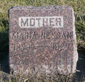 NESSAN, MARIA - Minnehaha County, South Dakota | MARIA NESSAN - South Dakota Gravestone Photos
