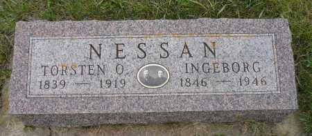 NESSAN, INGEBORG - Minnehaha County, South Dakota | INGEBORG NESSAN - South Dakota Gravestone Photos