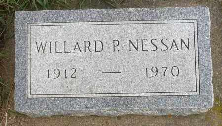 NESSAN, WILLARD P. - Minnehaha County, South Dakota | WILLARD P. NESSAN - South Dakota Gravestone Photos