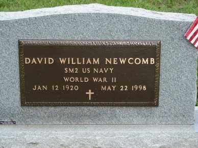 NEWCOMB, DAVID WILLIAM - Minnehaha County, South Dakota | DAVID WILLIAM NEWCOMB - South Dakota Gravestone Photos