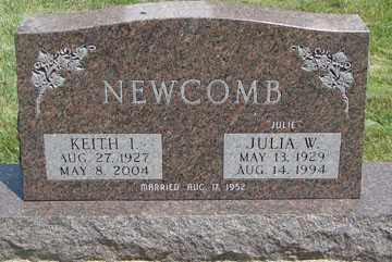 NEWCOMB, JULIA W. - Minnehaha County, South Dakota | JULIA W. NEWCOMB - South Dakota Gravestone Photos