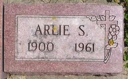 OLSON, ARLIE S. - Minnehaha County, South Dakota | ARLIE S. OLSON - South Dakota Gravestone Photos