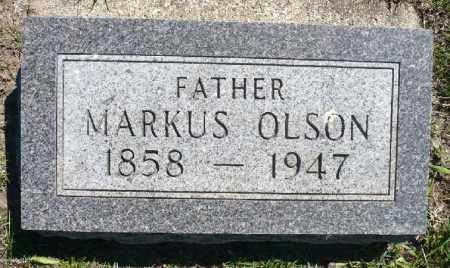 OLSON, MARKUS - Minnehaha County, South Dakota | MARKUS OLSON - South Dakota Gravestone Photos