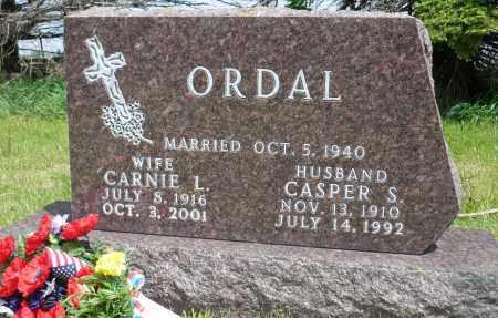 ORDAL, CASPER S. - Minnehaha County, South Dakota | CASPER S. ORDAL - South Dakota Gravestone Photos