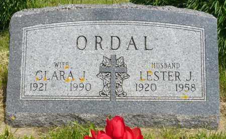 ORDAL, CLARA J. - Minnehaha County, South Dakota | CLARA J. ORDAL - South Dakota Gravestone Photos