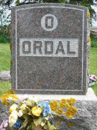 ORDAL, FAMILY MARKER - Minnehaha County, South Dakota | FAMILY MARKER ORDAL - South Dakota Gravestone Photos