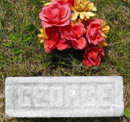 ORDAL, GEORGE J. (FOOTSTONE) - Minnehaha County, South Dakota | GEORGE J. (FOOTSTONE) ORDAL - South Dakota Gravestone Photos