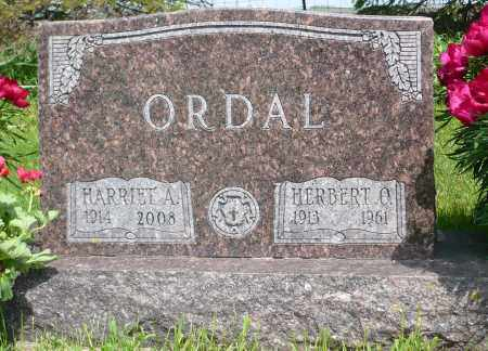 ORDAL, HARRIET A. - Minnehaha County, South Dakota | HARRIET A. ORDAL - South Dakota Gravestone Photos