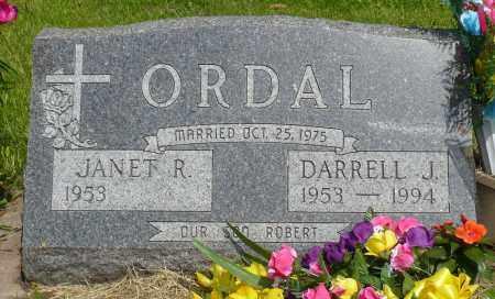 ORDAL, DARRELL J. - Minnehaha County, South Dakota | DARRELL J. ORDAL - South Dakota Gravestone Photos