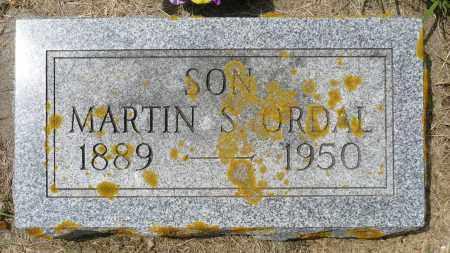ORDAL, MARTIN S. - Minnehaha County, South Dakota | MARTIN S. ORDAL - South Dakota Gravestone Photos