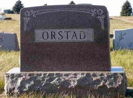ORSTAD, CLARA E. - Minnehaha County, South Dakota | CLARA E. ORSTAD - South Dakota Gravestone Photos