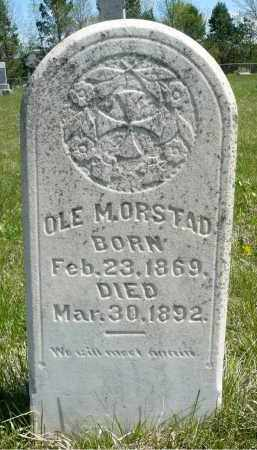 ORSTAD, OLE M. - Minnehaha County, South Dakota | OLE M. ORSTAD - South Dakota Gravestone Photos