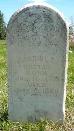 ORSTAD, RAGHNIL A. - Minnehaha County, South Dakota   RAGHNIL A. ORSTAD - South Dakota Gravestone Photos