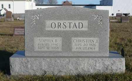 ORSTAD, SOPHIE B. - Minnehaha County, South Dakota   SOPHIE B. ORSTAD - South Dakota Gravestone Photos