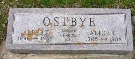 OSTBYE, ALICE L. - Minnehaha County, South Dakota | ALICE L. OSTBYE - South Dakota Gravestone Photos